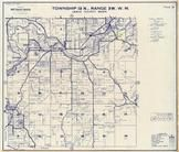 Township 13 N., Range 3 W., Milburn, Adna, Littel, Lewis County 1960c